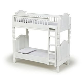 Laurent Doll Bunk Bed - White