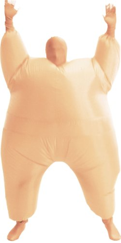 [Inflatable Chub Suit Costume: Nude Select Size: One Size Fits Most] (Inflatable Chub Suit Costume)