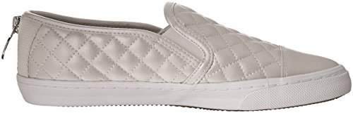 Geox Low Patent Club Fashion Top Women's White Sneaker New xvS7qxtr