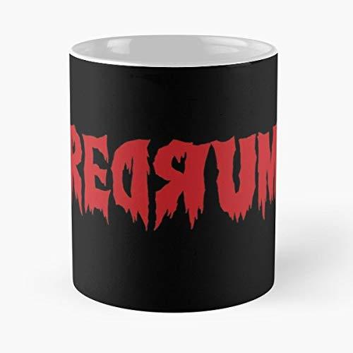 Redrum The Shining Horror Slasher - Morning Coffee Mug Ceramic Novelty Holiday -