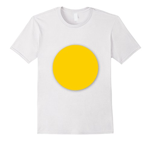 Mens Fried Egg - Couples Halloween Tshirt 3XL (Bacon And Egg Halloween Costume Make)