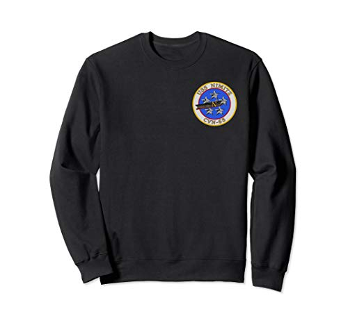 USS Nimitz CVN-68 Navy Aircraft Carrier Patch Sweatshirt