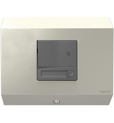 adorne Titanium 1-Gang Paddle Dimmer Control Box