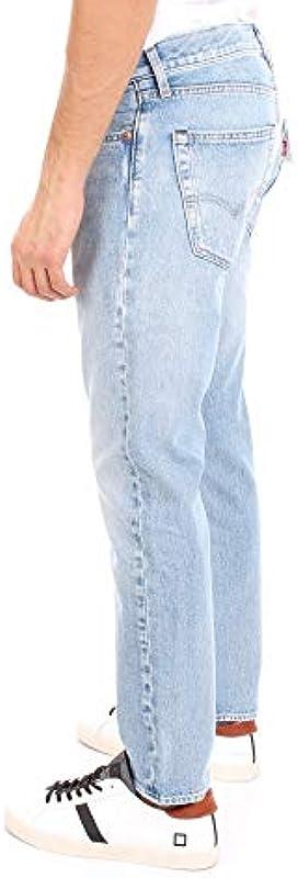Levi's 501 Slim Taper dżinsy męskie, niebieskie: MainApps: Odzież