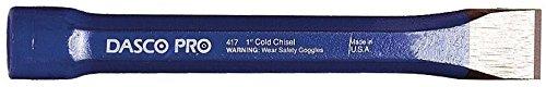 Dasco Pro 417-0 1'' x 7-7/8'' Cold Chisel