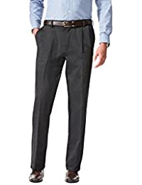Men's Comfort Khaki Stretch Relaxed-Fit Pant