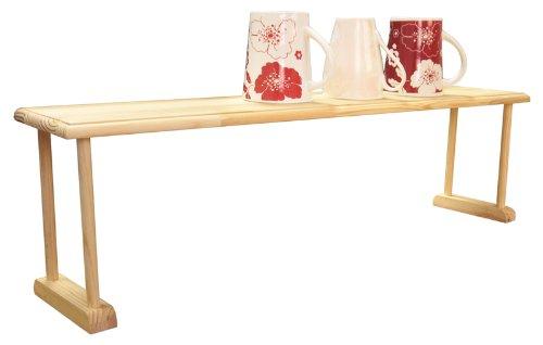 Home Basics Over Sink Shelf Wood 2