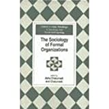 Sociology of Formal Organizations, , 0195636090
