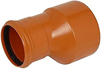 2 x 110mm Plain Ended Underground Drainage Pipe FREE NEXT DAY DELIVERY