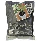 プロトリーフ 園芸用品 マルチングストーン ブラック M 700g×30袋