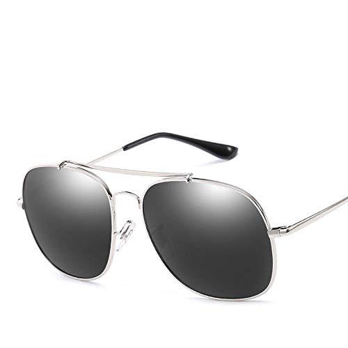 Gafas Sol Sol de C de de Metal los polarizado ZhongYi Aviator Gafas de Gafas Hombres Sol Retro de w0Iq7x