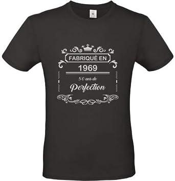 Générique Camiseta de cumpleaños vintage de 20 años, 30 años, 40 años, 50 años, 60 años, 2 XL, color negro: Amazon.es: Ropa y accesorios