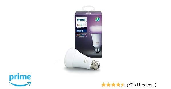 Philips Hue Lampen : Philips hue single premium smart bulb million colors for most