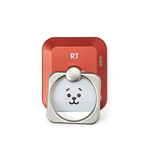 BT21 Official Merchandise by Line Friends - RJ Cell Phone Stand Ring Grip  Holder 906acccf6cc5