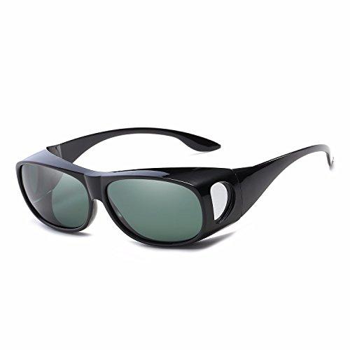 Sol Hombre B de Sol de Personalidad Mujer A Retro de Intellectuality Ojos Gafas Gafas polarizadas pUHSSw
