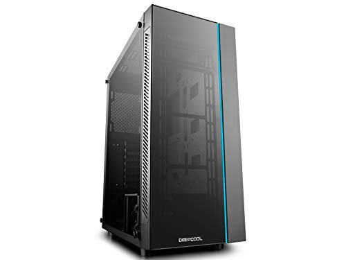 DeepCool MATREXX 55 Case, E-ATX Supported, Motherboard or Button Control of Sync of 12V RGB Devices of 4mm Full Sized Tempered Glass
