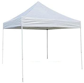 Amazon.com  ProSource Easy Pop Up Tent Instant Canopy - 10 x 10  Outdoor Canopies  Garden u0026 Outdoor  sc 1 st  Amazon.com : white tent 10x10 - memphite.com