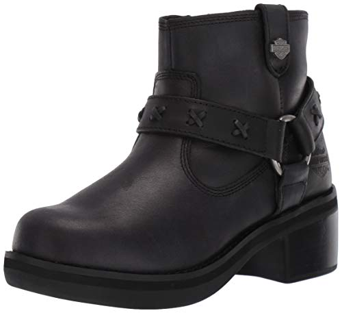 Harley-Davidson Women's Adena Fashion Boot, Black, 09.0 M - Boots 09 Black