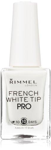 Rimmel Lasting Finish Pro Nail Enamel French White Nail Tip Liner - White French Nail Tip