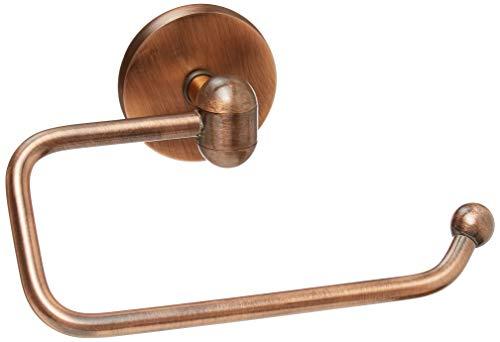 (Allied Brass TA-24E-CA Tango Collection European Style Toilet Tissue Holder, Antique Copper )