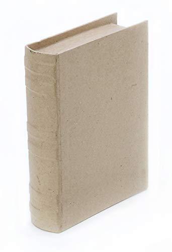 Darice Paper Mache Book Box - 7-3/4 x 5-1/2 x 1-3/4 -