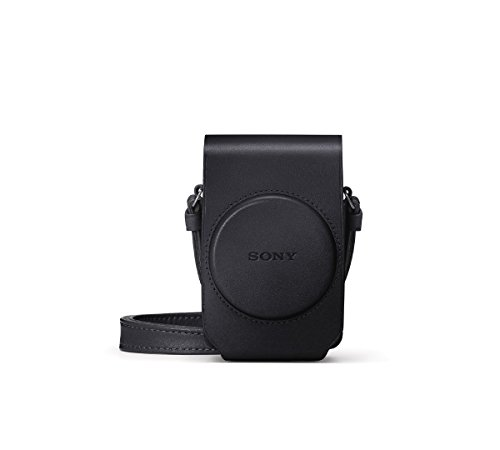 Sony - Soft Leather Carrying Case - Black