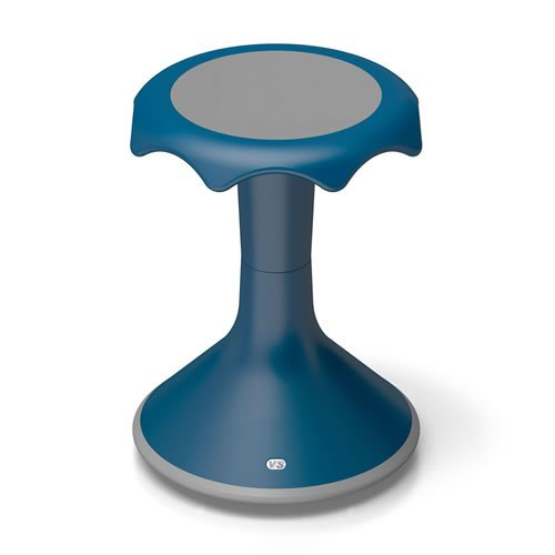 Hokki Stool - 18'' Blue by Hokki