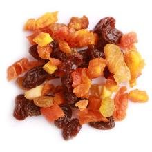 Traina Home Grown Sun Dried Baker's Fruit Medley - Diced Peaches, Cranberries, Apricots, Pears, Nectarines, and Raisins - Non GMO, Gluten Free, Packed in Resealable Pouch (2 lbs)