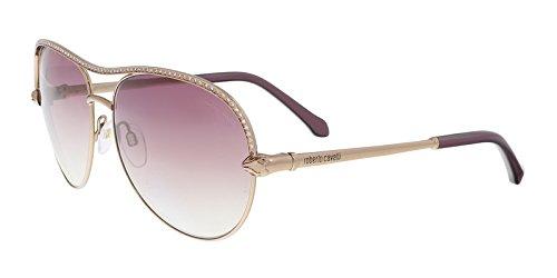 Roberto Cavalli RC1011 Vega Sunglasses 61 34Z Shiny Light Bronze Gradient