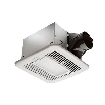 Hampton Bay 80 CFM Ceiling Exhaust Fan with LED Light and Ni
