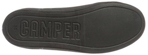 Camper Ladies Hoops Sneaker, Bianco, 39 Eu Nero (nero 001)