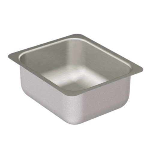 Moen G204502 2000 Series Single Bowl Undermount Sink, 20-Gauge, Stainless Steel (Series 2000 Single)