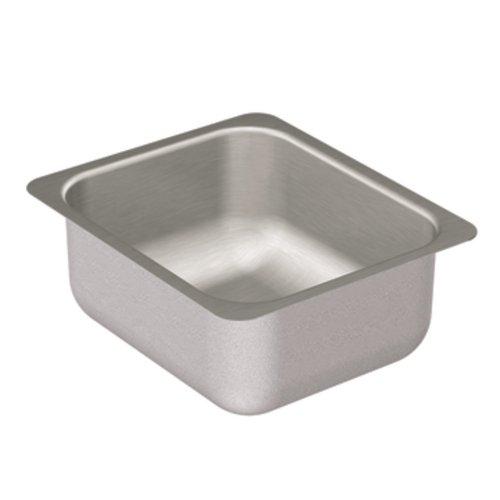 Moen G204502 2000 Series Single Bowl Undermount Sink, 20-Gauge, Stainless Steel (Single Series 2000)