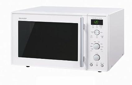 Sharp R-898W-AA, 16 A, Blanco, 520 x 486 x 309 mm, 19000 g, 343 x 357 x 209 mm - Microondas