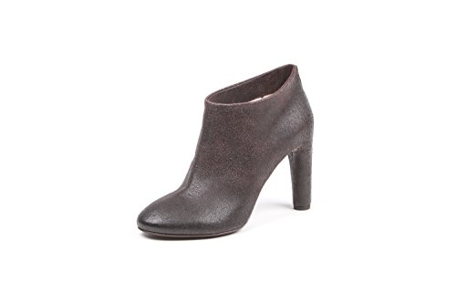 ROBERTO DEL CARLO FEMME 10254BROWN MARRON CUIR BOTTINES