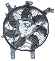 TYC 610630 Nissan Replacement Condenser Cooling Fan Assembly