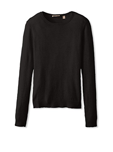 Cashmere Addiction Womens Long Sleeve Crewneck Sweater