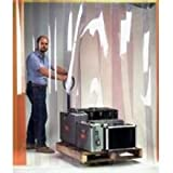 Wesco Easy Mount Smooth Walk Through Door - 8 inch Strip Door Width, 4 x 8 feet Opening -- 1 each.