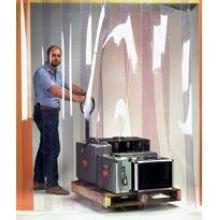 Wesco Easy Mount Smooth Walk Through Door - 8 inch Strip Door Width, 4 x 8 feet Opening -- 1 each. by Wesco
