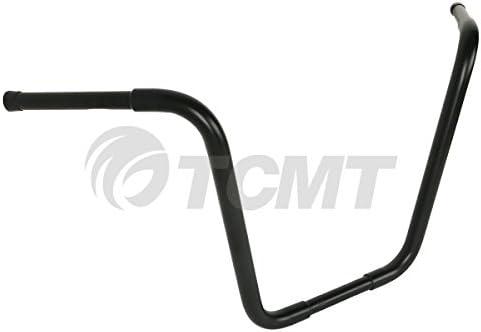 TCMI moto handlebar grips 1.25 Fat 10 Rise Ape Handlebar Fits For Harley Softail FLST FXST Sportster