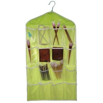 Cajas Organizadoras - 16 Grids Hanging Organizer Underwear Socks Tie Shoes Storage Bag Door Holder Closet