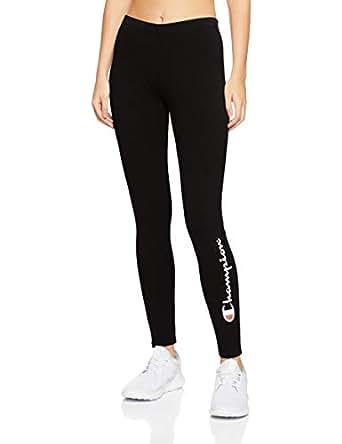 Champion Women's Essential Leggings, Black, X-Small