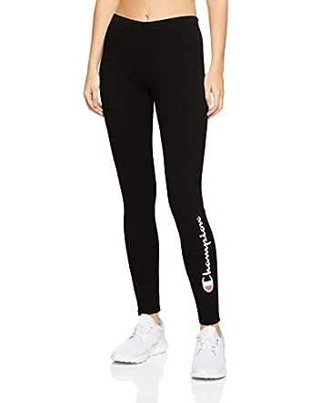 Champion Women's Essential Leggings, Black, Medium