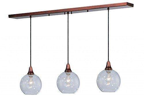 Meyda Tiffany 142455 Bolla 3 Light Island Pendant Light Fixture, 48