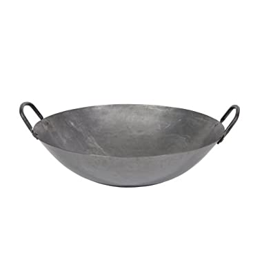Town Food Service 16 Inch Steel Cantonese Style Wok