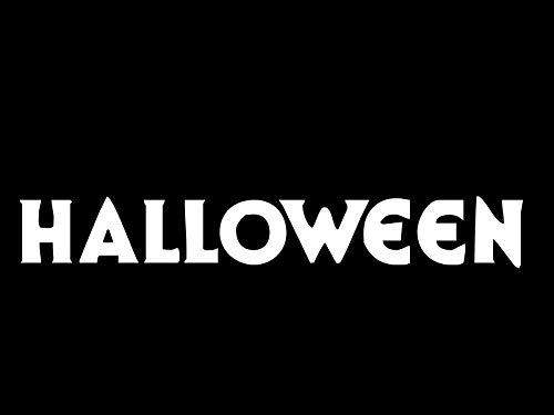 TiuKiu Halloween Michael Myers John Carpenter Vinyl Decal Hi Quality - 7 Inches -