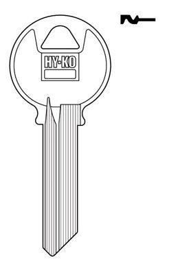 y4 Keyblank Yale B001LNTWJU