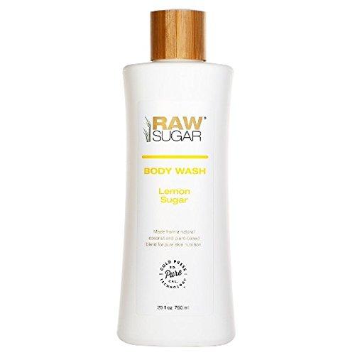 Raw Sugar Lemon Sugar Natural Body Wash 25oz - Lemon Vanilla Sugar