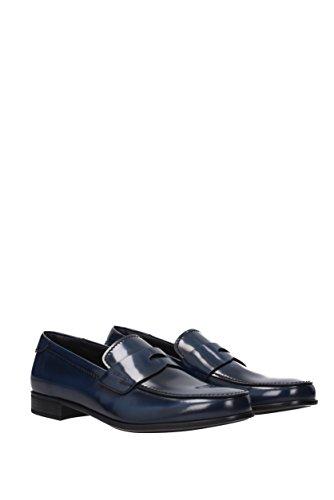 Prada Men's Loafer Flats * Blue OJmv1