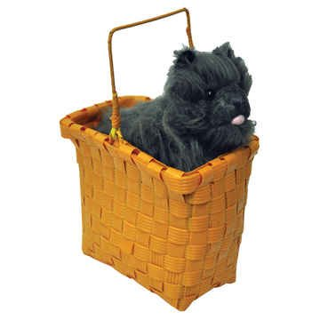 TOTO IN BASKET (Dog From Wizard Of Oz)